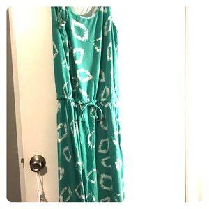 Jones NY light green maxi dress